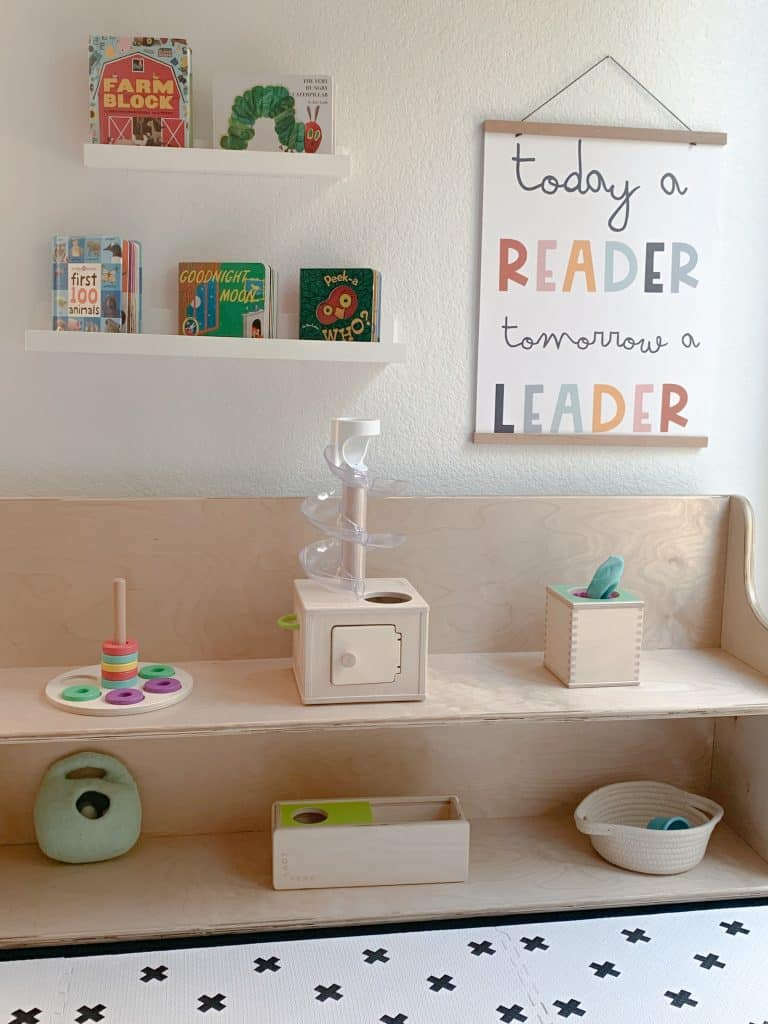 Learning Space at home for toddlers